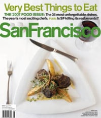 San Francisco Magazine Aug. 07