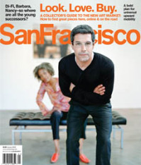 San Francisco Magazine Jan. 08