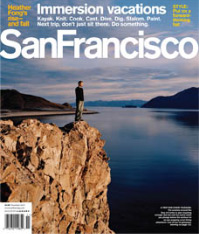 San Francisco Magazine Nov. 07