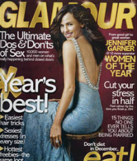 Glamour Magazine Dec. 07